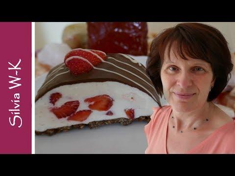 yogurette-mit-erdbeeren-/-erdbeerkuchen-ohne-backen