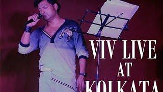 VIV LIVE IN CONCERT AT KOLKATA DURGA PUJA 2014- KISKA RASTA DEKHE ( KISHORE KUMAR)