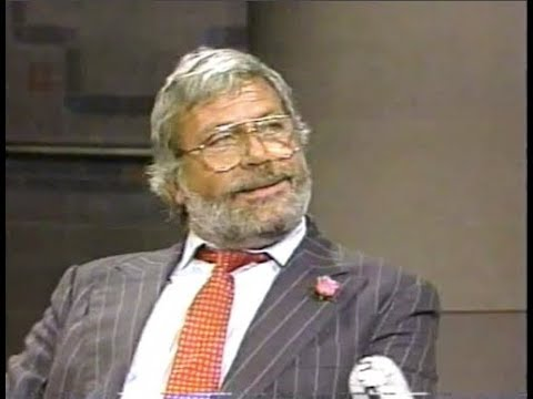 Oliver Reed on Late Night, August 5, 1987 full, stereo
