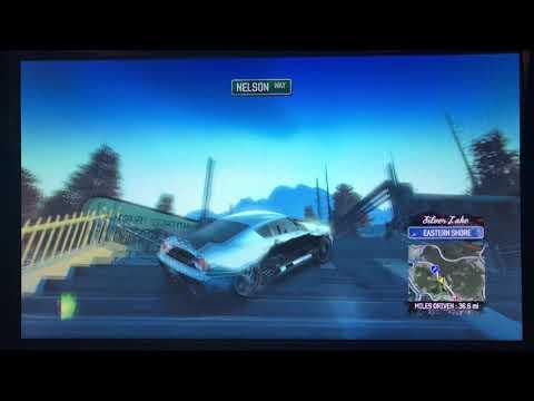Burnout Paradise Version 1.0 Nakamura Ikusa GT Gameplay.