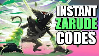 INSTANT Zarude Mystery Gift codes in ANY country - Pokemon Sword and Shield