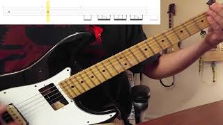 Soulfly - Mulambo (Guitar Cover) (Scrolling Tabs in Video)