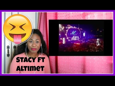 Stacy ft Altimet-Not For Sale Live   MTV world stage Malaysia 2015 | Reaction