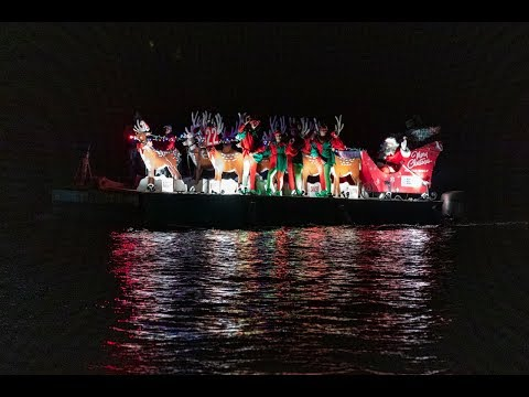 Christmas Boat Parade In Hamilton, December 8 2018