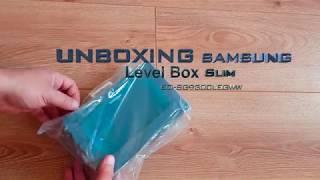 Unboxing Samsung Level Box Slim Speaker