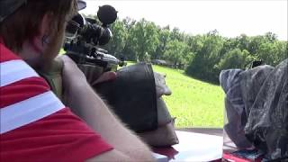 m1a vs ar500 steel at 200 yards