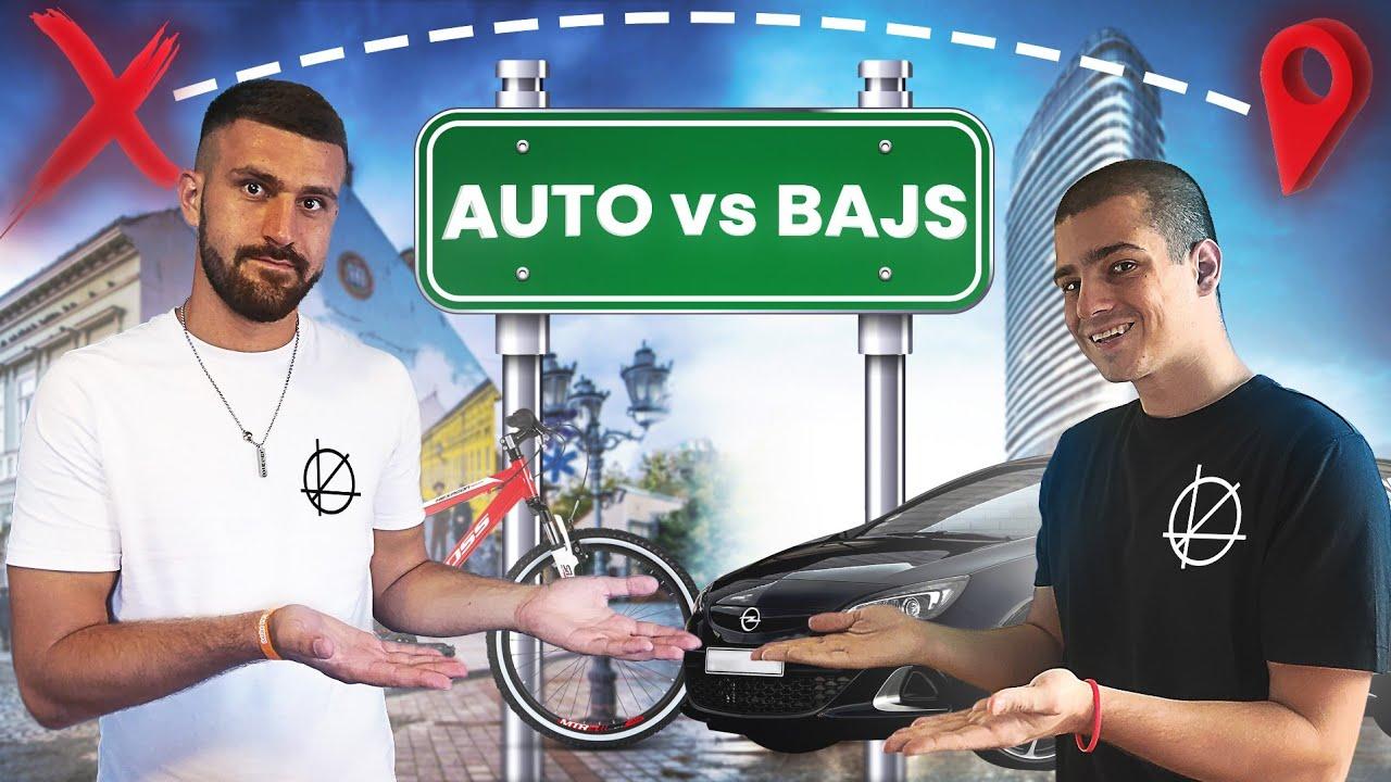 AUTO vs BUS vs BAJS | TRKA PO GRADU