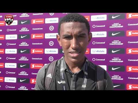 Post Match Reactions from T&T U-20 Captain John Paul Rochford
