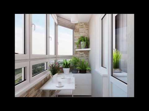 Отделка балкона, отделка лоджии, современные идеи, фишки.