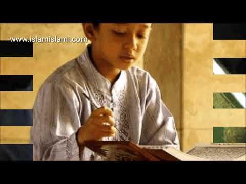 YOUTUBE PILIHAN: Alunan Alfatihah Suara Paling Merdu dan Paling Dahsyat Seorang Anak