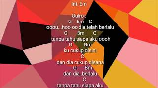 EVOLUTION (Evo) - DIA DAN AKU | CHORD GUITAR | LYRICS