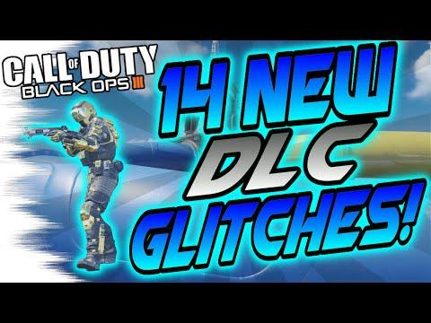 14 NEW DLC Glitches! - Splash, Skyjacked, Gauntlet, Rise - Wallbreaches/High Ledge BO3 Glitch Spot)