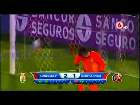 Uruguay 3-3 Costa Rica (Amistoso, 13/11/2014)