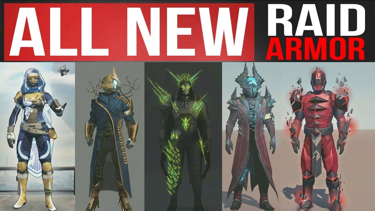 destiny age of triumph all new raid armor and age of triumph armor