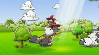 Облака и овцы фото