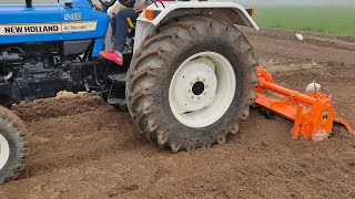 Download - New holland 3600-2 with Rotavator video, imclips net