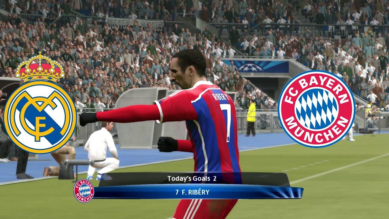 Real Madrid Vs Bayern Munchen Statistics
