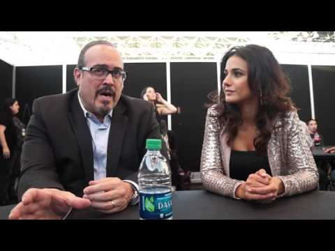 David Zayas and Emmanuelle Chriqui for Shut Eye at NYCC 2016