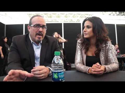 David Zayas and Emmanuelle Chriqui for Shut Eye at NYCC 2016