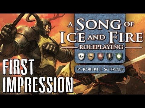First impressions: Song of ice and fire RPG