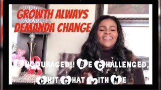 New Year's Challenge!! Growth Demands Change Vlog Chit Chat With Faithlyn McKenzie 2019