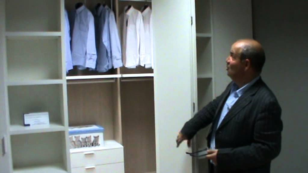 Cabina armadio low cost e camera da letto - YouTube