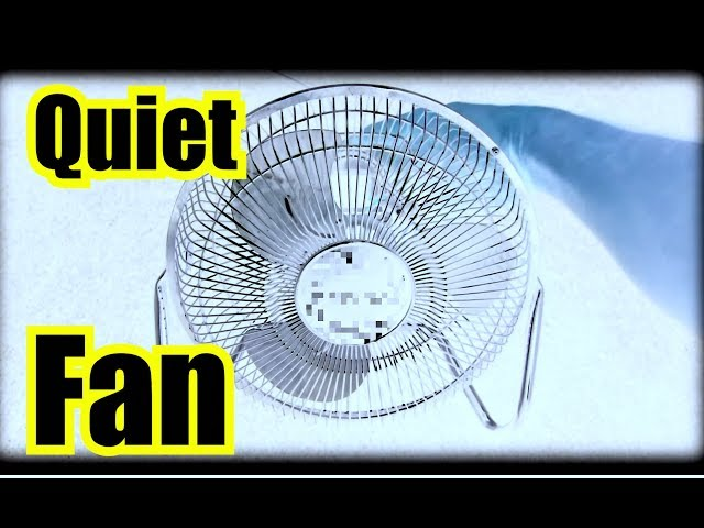 ✪ Sleep to a QUIET FAN NOISE with DEEP BASS