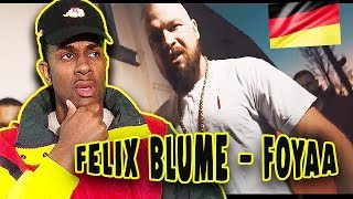 GERMAN RAP REACTION | FELIX BLUME (KOLLEGAH) - FOYAA!!! (prod. by M3)