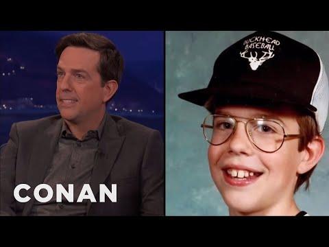 Ed Helms' Childhood Nickname Was Chuck E. Cheese  - CONAN On TBS