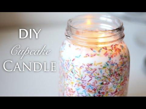 DIY Cupcake Candle