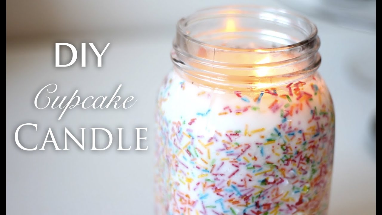 Diy Candles Diy Cupcake Candle Youtube