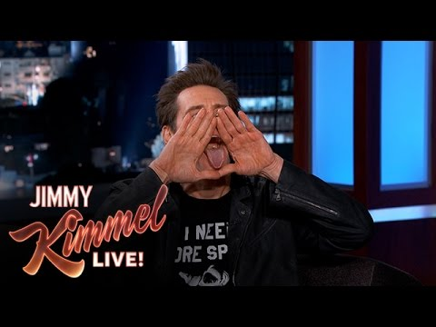 Jim Carrey's Secret Hand Signal