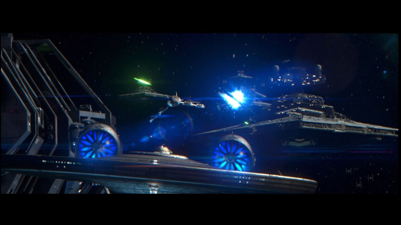 Galactic Battles - A Crossover Fan Film Featuring: Star Wars, Star Trek, Halo & Mass Effect