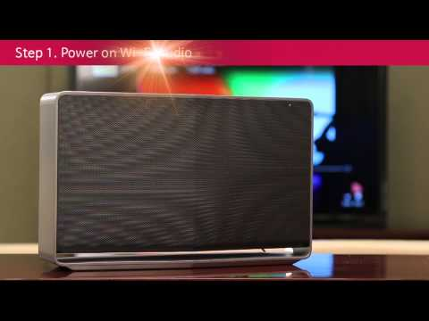 LG Music Flow Setup Guide for Wi Fi Audio User