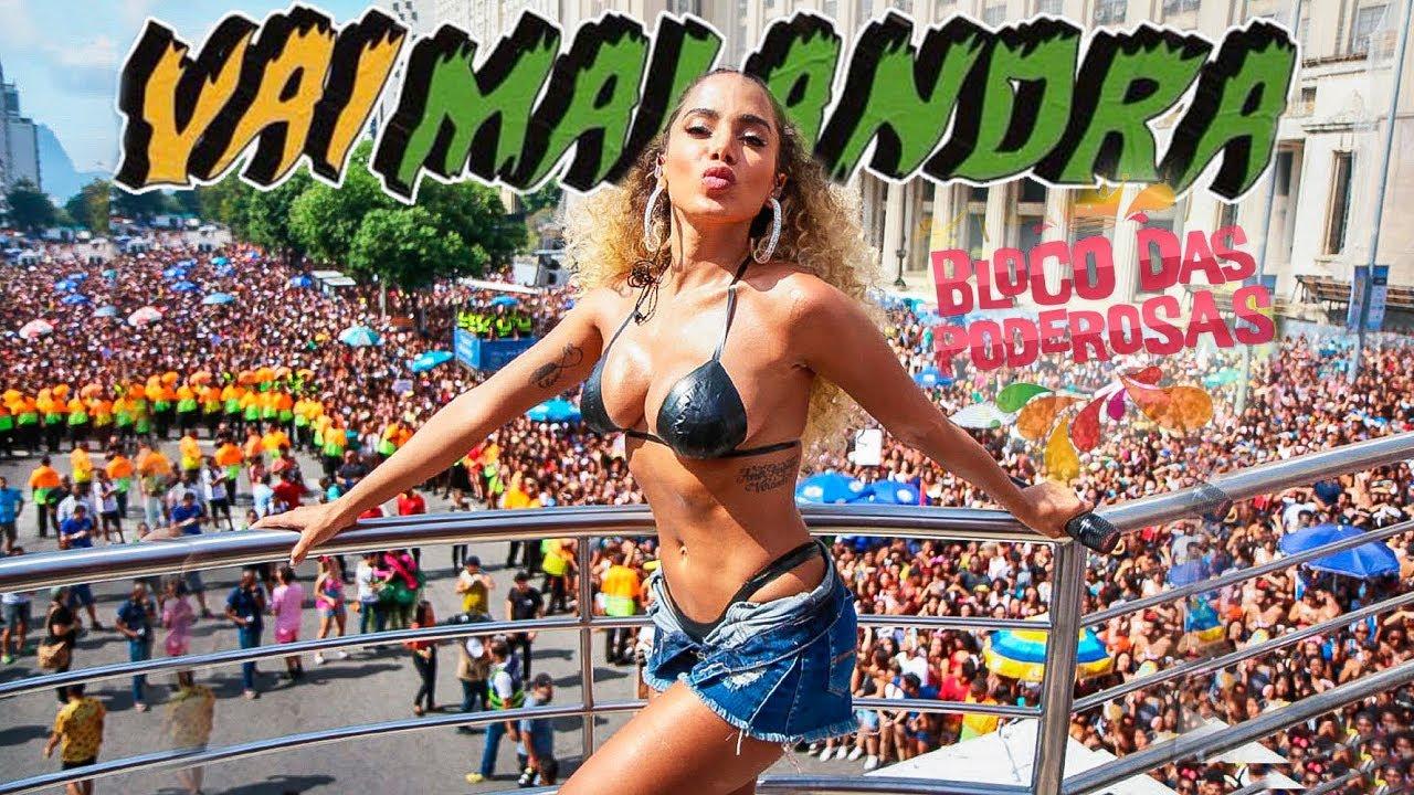 Image result for Bloco das Poderosas (esse Bloco é da Anitta)