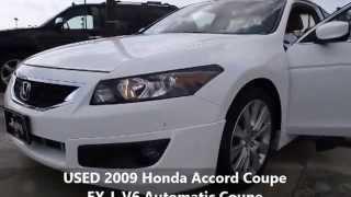 USED 2009 Honda Accord Coupe EX-L V6 Automatic Coupe Columbus Ohio