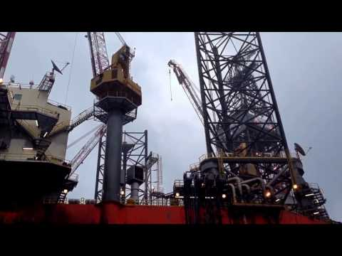 West Leda Jack-Up Rig at Damar Platform (ExxonMobil) Malaysia