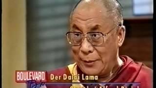 Dalai Lama zu Gast bei Biolek