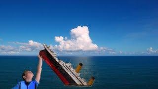 ESTAMOS SINKING EL TITANIC!!! Roblox Titanic Sinking