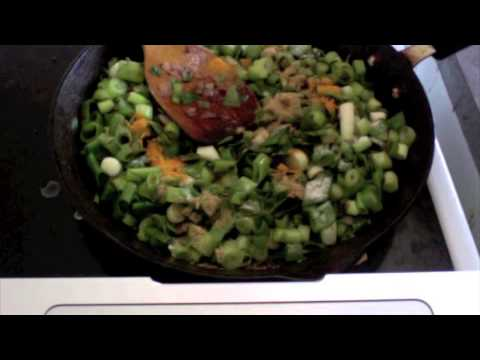 Spring Onions healthy & Quick Vegetarian Dish