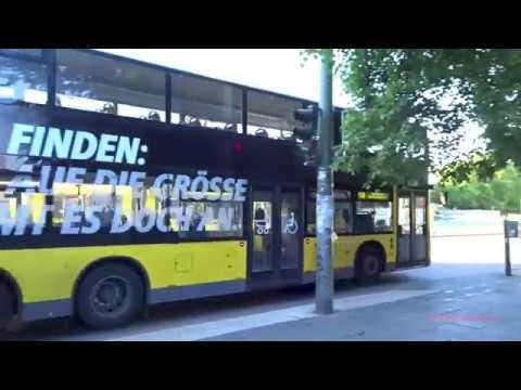 Busverkehr In Berlin 2017 - Buses Of Berlin, Germany
