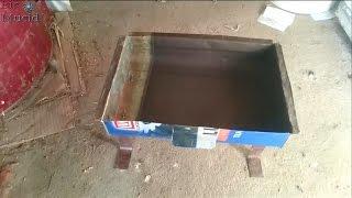 El yapımı mangal - Yapımı kolay, basit bir mangal nasıl yapılır? DIY