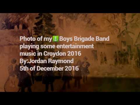Photo of my⚓Boys Brigade Band🎶playing some entertainment music in Croydon 2016:By,creater:Jordan