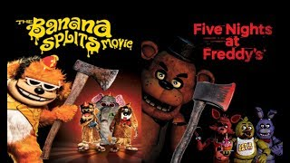 The Banana Splits Movie but with 5 Nights at Freddy's