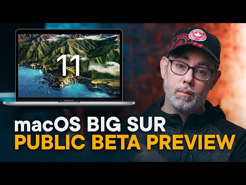 macOS Big Sur Preview — Public Beta!