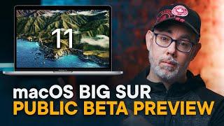 macOS Big Sur Preview — Public Beta!