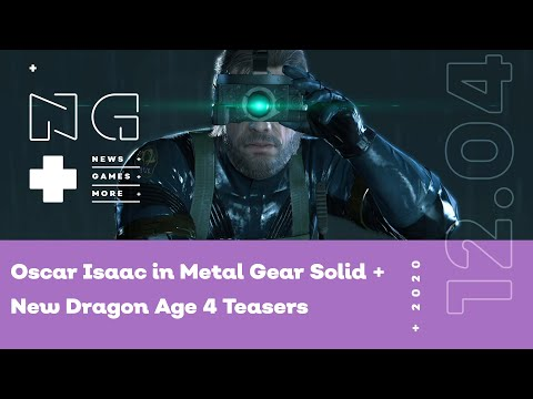 Oscar Isaac in Metal Gear Solid + New Dragon Age 4 Teasers on IGN News Live