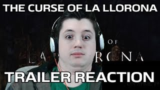 The Curse of La Llorona - Teaser Trailer | REACTION