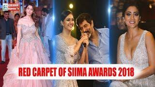 Red carpet of SIIMA awards 2018 | Vikram Hansiga Keerthi Suresh | Chennai Express