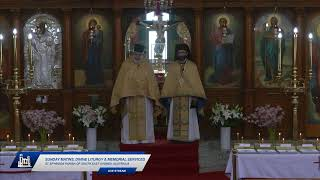 Sunday Matins, Divine Liturgy \u0026 Memorial Services - 19th September 2021 - St Spyridon Church, Sydney